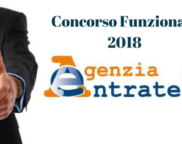 CONCORSO AGENZIA DELLE ENTRATE : SELEZIONE PUBBLICA PER 650 FUNZIONARI