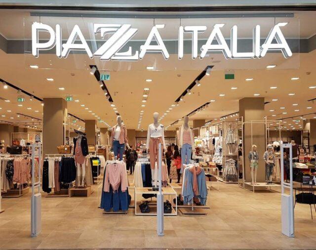 Piazza Italia: lavoro per Addetti Vendita, Magazzinieri, Capi Reparto, ecc